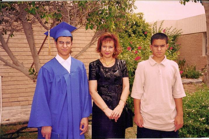 Malek graduation Jun 2003